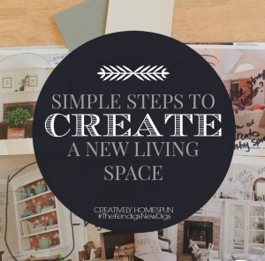 Tips to creating a great living space! ||Creatively Homespun #thekendigsnewdigs