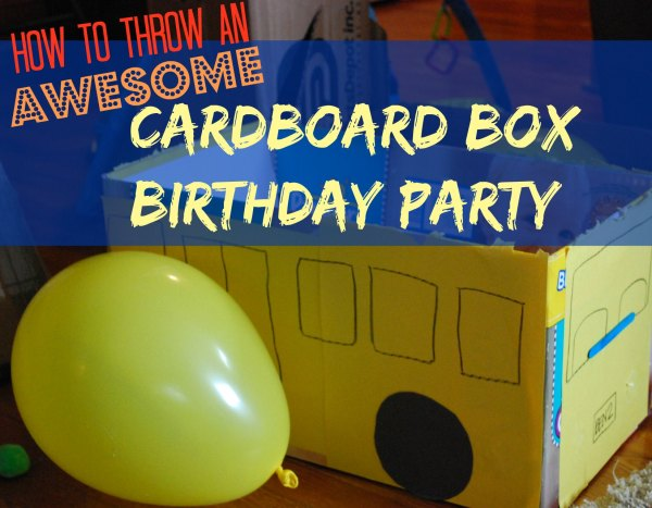 cardboard box birthday