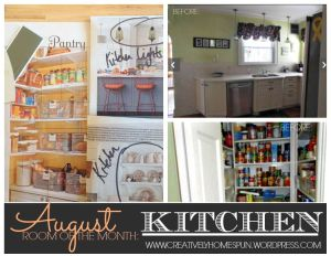August Room of the Month: KITCHEN #TheKendigsNewDigs #Kitchen #DIY #Reno #RoomOfTheMonth #OldHouseToNewHome